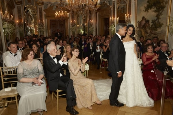 George Clooney Wedding in Venice, top destination wedding abroad